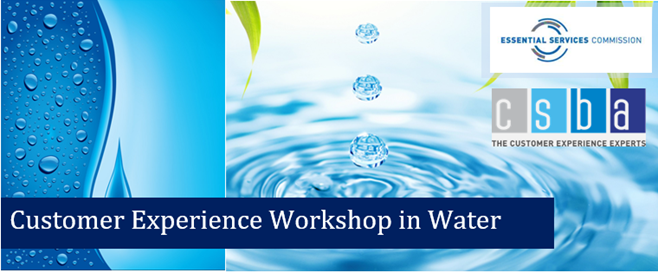 Water Sector Customer Experience Workshop 2021